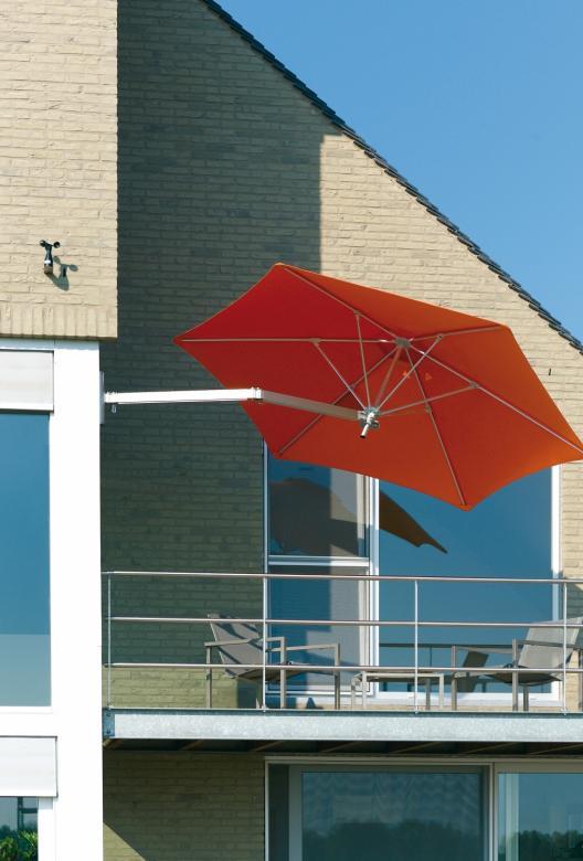 Parasol mural 2x2m 1.9x1.9m 2.3x2.3m Paraflex Wallflex UMBROSA