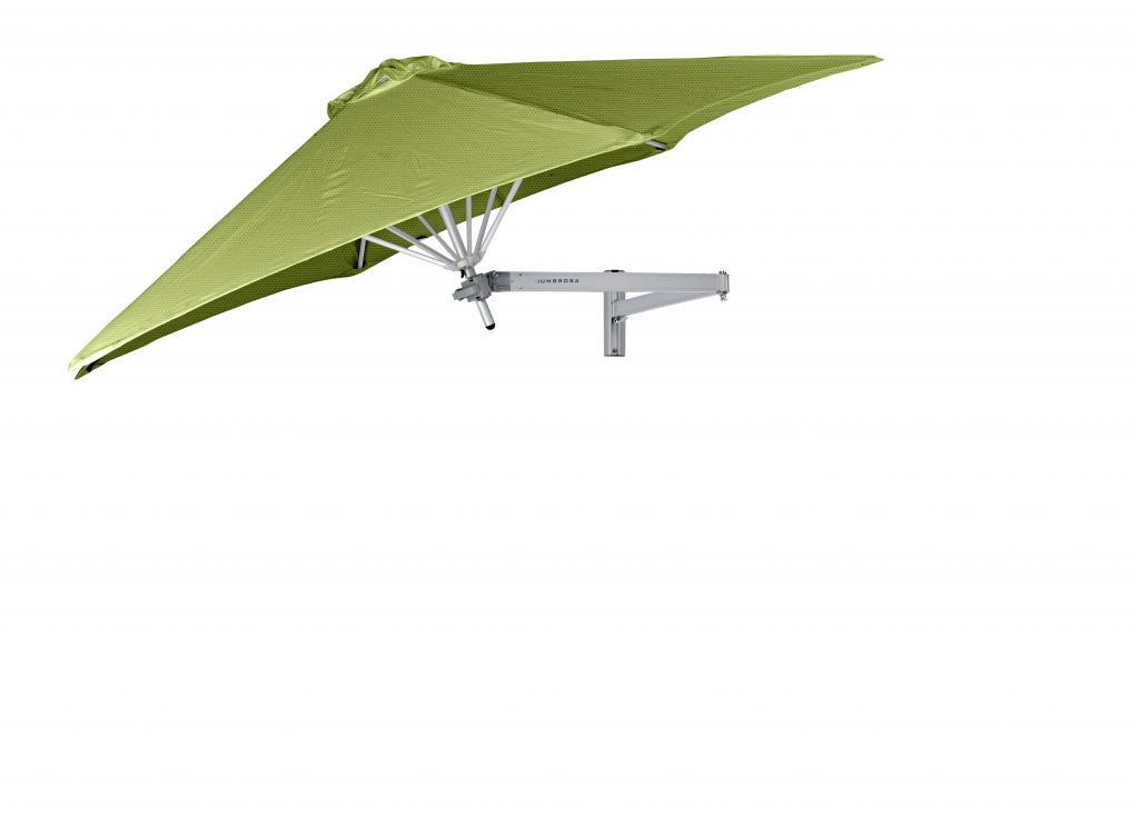 Parasol balcon 2m rond 3m 2.7m Paraflex Wallflex UMBROSA