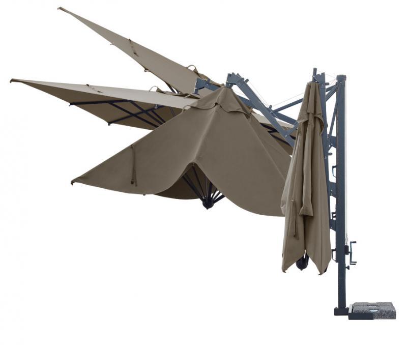 Ombrellone parasole di qualità Galileo Dark SCOLARO