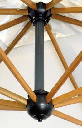 Quadruplo parasole per ristorante Alu Poker Scolaro SCOLARO