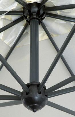 Ombrello rettangolare braccio laterale 3,5x7m Alu Double Scolaro SCOLARO
