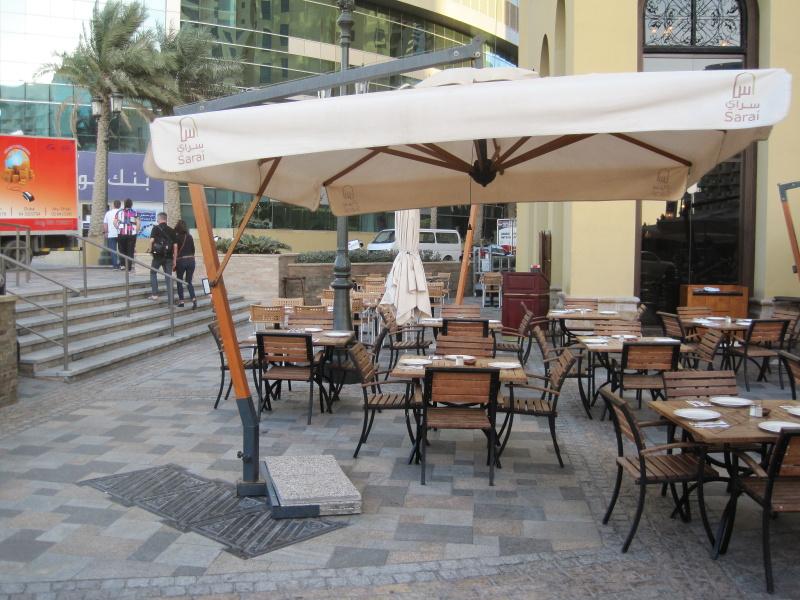 Ombrellone laterale rettangolare 3x4m Palladio Braccio SCOLARO
