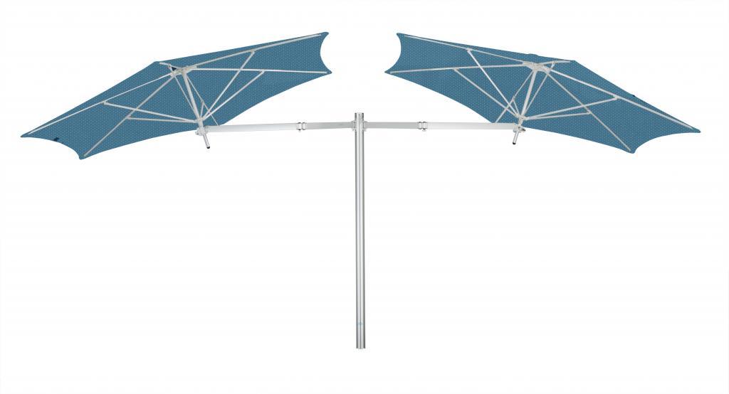 Parasol ouverture facile restaurant Paraflex Evolution UMBROSA